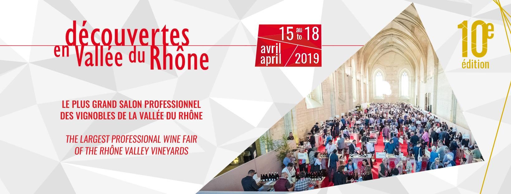 Découvertes en vallée du Rhône 2019