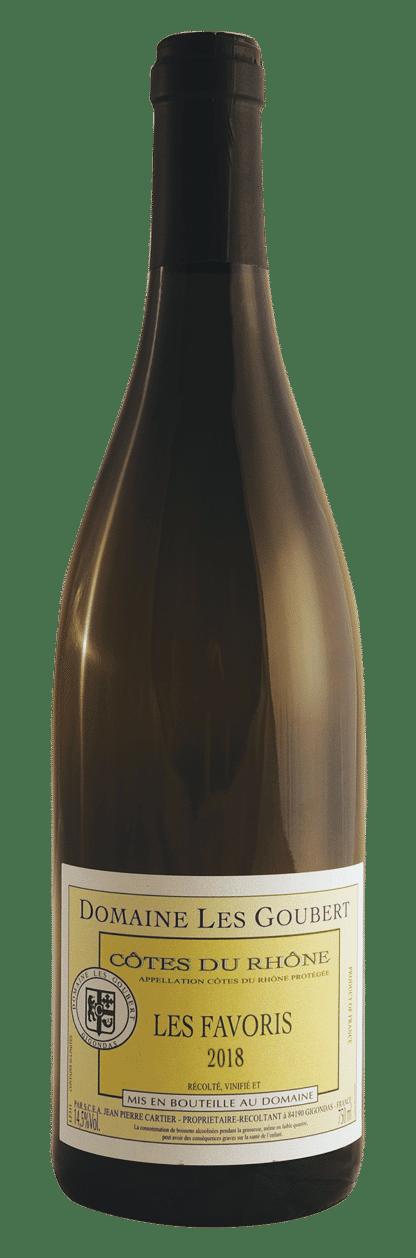 """Cuvée """"Les Favoris"""", vin blanc AOP Côtes du Rhône"""